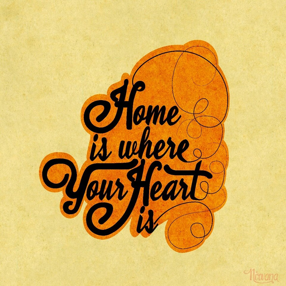 lettering - home is - ADFOX Agencia Digital - Servicios de Marketing Digital