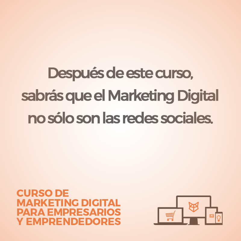 El marketing digital no solo son las redes sociales